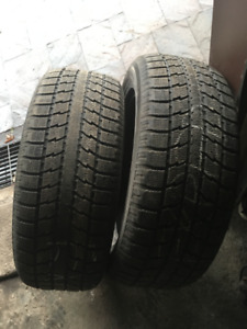 2 PNEUS D'HIVER / 2 WINTER TIRES 275/55/20 TOYO OBSERVE GSI can