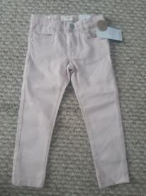 Pink Mango jeans age 3-4