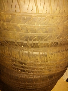 195/65/15 GOODYEAR ALL SEASON TIRES NEW FULL SET ONLY $250