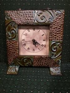 Rustic Iron Home Clock Windsor Region Ontario image 1