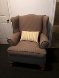 Beautiful antique wingback chair