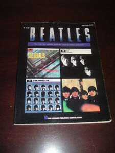 The Beatles. The first four albums tab and lyrics book