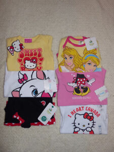 Baby Girls Onesies Clothes Lot of 6 *BRAND NEW* Size 6-12 Months