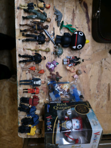 Misc toy lot star wars Lego, star trek, pokemon etc