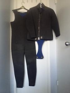 Wet Suit, weights, belt, etc.