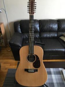 Guitar Martin 12 cordes en parfaite condition