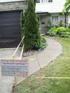 CONCRETE SERVICES: NEW  WORK AND REPAIRS London Ontario image 3