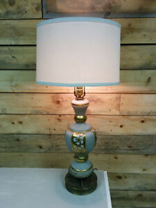 "32"" Hand Painted Table Lamp"