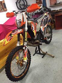 KTM EXC 200 2011