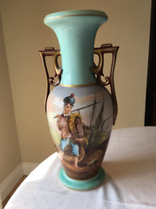 Vintage vases and lamps