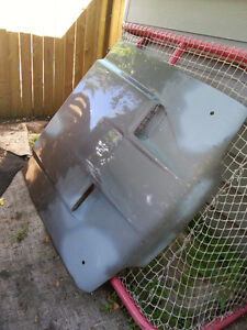 1992 Ford Mustang hood