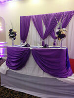 Table cloth,Chair Cover,folding chairs,Tables for rent
