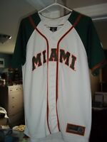 Miami Hurricanes Baseball Jersey - Youth Large
