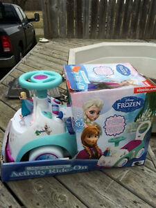 Still in box disney's frozen. Ride on frozen