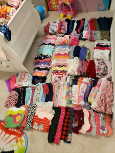 GIRLS CLOTHES 12 MONTHS TO 2T ...$175.00 ..o.b.o or will trade