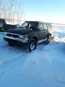Turbo diesel right hand drive toyota surf 92