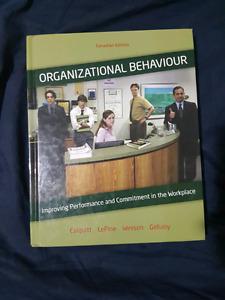 Organizational Behaviour Canadian Edition