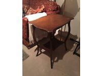 Vintage oak side table for sale