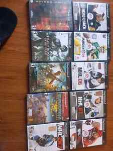 Ps2 games and spiderman2 for the GameCube