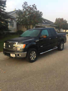 2013 F150 XLT SuperCrew Cab with eco boost engine.