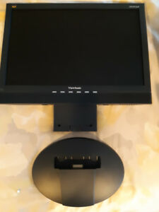 """Viewsonic Computer Monitor 19"""" Screen with Built-In Speakers"""