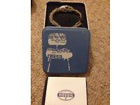 Men's Fossil watch - changeable strap