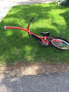 Mint Bike tandem attachment for sale.