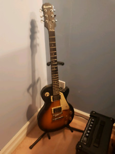 Electric guitar for sale with amp