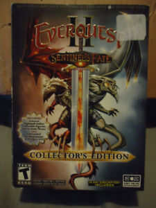 EVERQUEST SENTINELS FATE PCGAME COLLECTORS EDITION