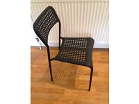 Lightweight Chairs ideal for Office/Kitchen x4