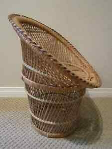 Vintage Large 21'' Tall Woven Wicker Doll Chair Regina Regina Area image 3