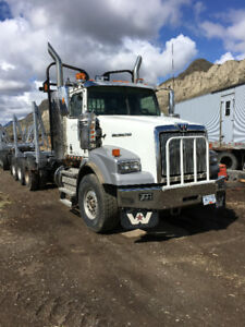 2015 Western Star 4900 and 2006 Superior Trailer