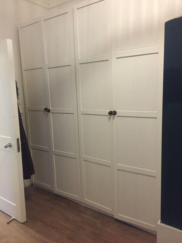 IKEA pax hemnes wardrobe doors x4 in Highgate, London Gumtree
