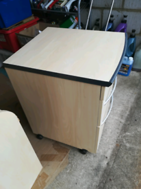 3 drawer office chest