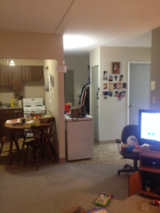 Sublet in Fort Richmond at $930/mth incl all utilities/1 prkng.