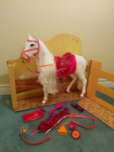 Our Generation Camillo Horse, good condition 100% complete, $60