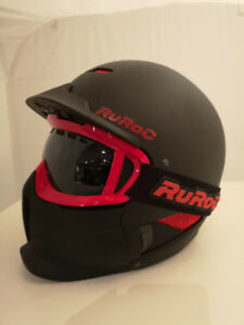 New RuRoc Helmet with matching goggles