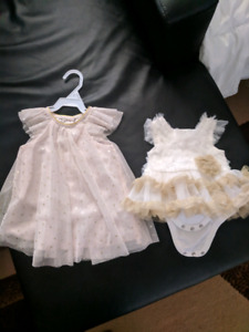 Beautiful outfits for Christmas for a newborn baby girl