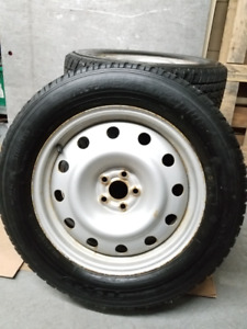 4x Toyo Observe GEO2 Plus  225/60/17 Winter Tires / Pneus Hiver