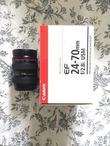 Canon 24-70mm 2.8L for sale