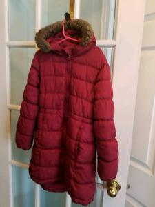 Manteau d'hiver fille Grandeur 8 ans