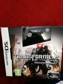 NEW TRANSFORMERS SPECIAL EDITION DS GAME