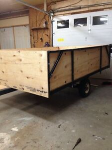 5.5 ft x 8ft utility trailer just refinished