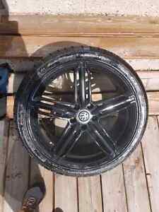 19inch VW Rims/Performance Tires  600OBO