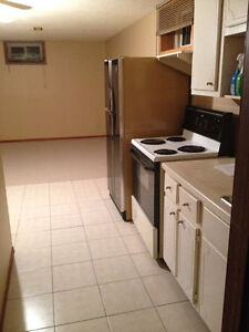 2 bedroom basement apartment util available MAY 1 Furnishd $1075