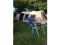 Outwell Yellowstone falls 6 man tent excellent condition