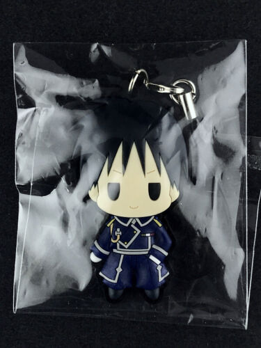 Fullmetal Alchemist D4 Rubber Strap Vol.1 Key Chain empty Roy Mustang New
