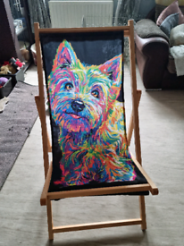 Brand new with box westie deck chairs