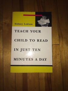 Sidney Ledson: Teach your child to read in just 10 minutes a day Kitchener / Waterloo Kitchener Area image 1