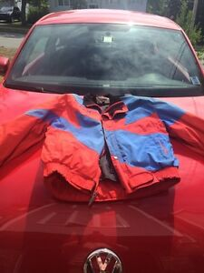 Motorcycle jackets for sale.